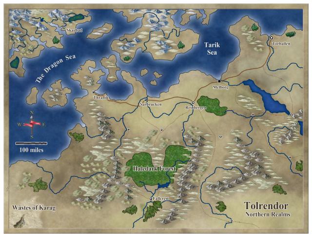 Tolrendor - Northern Region - CA76