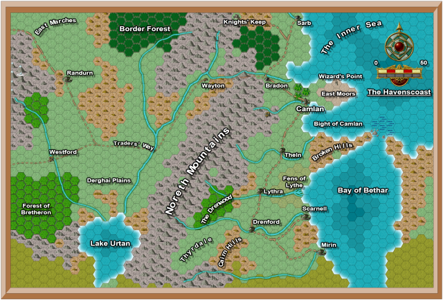 Havenscoast Area Map B4 Annual Nov 13